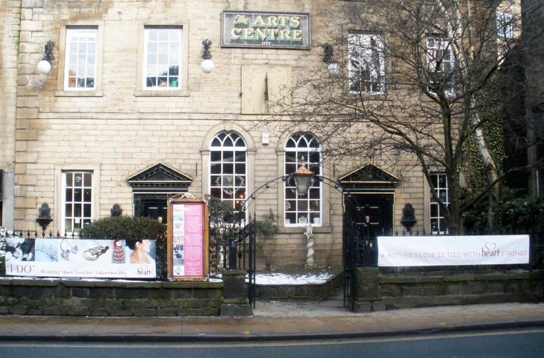 Heart Gallery exterior, 4a Market Street, Hebden Bridge