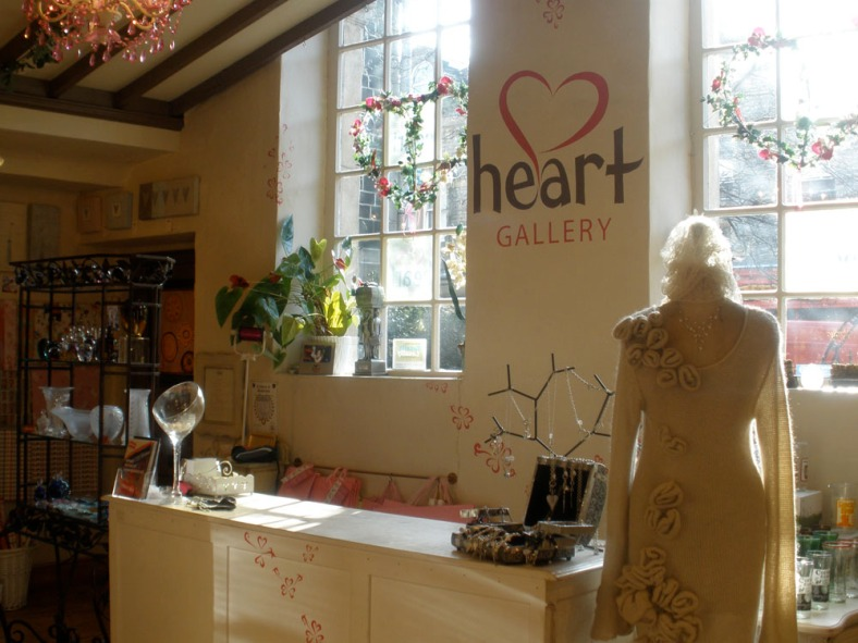 Heart Gallery interior shot of the counter