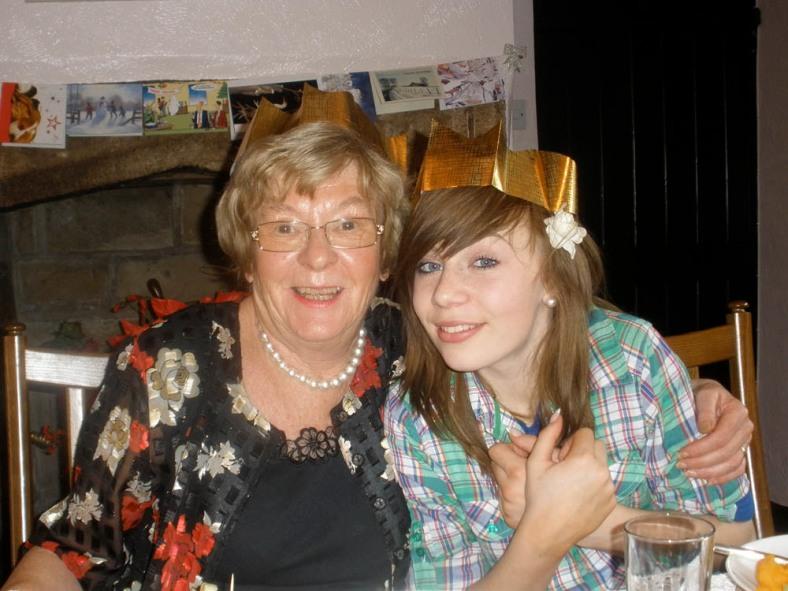 Becki with Grandma