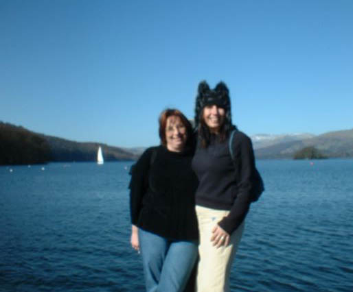 Rachel and Alison in The Lake District, the last time we went on holiday together.