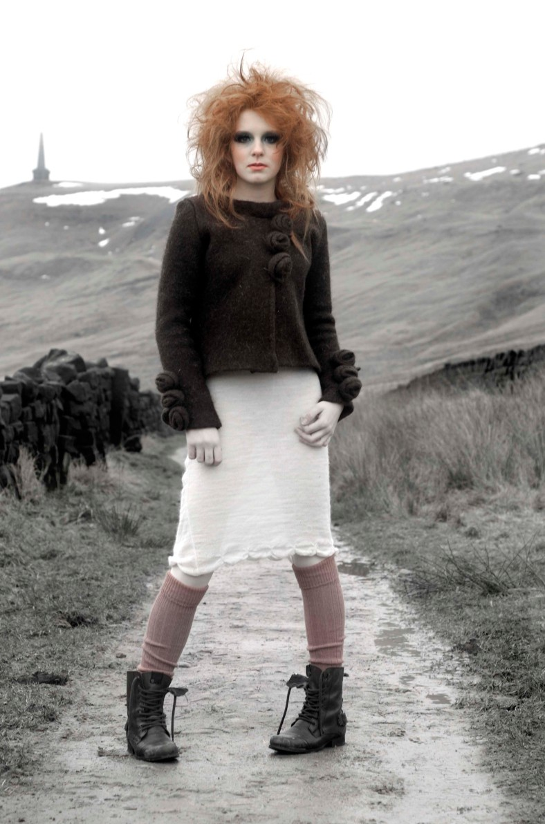 AW10 Jacket and Dress with Gauntlets