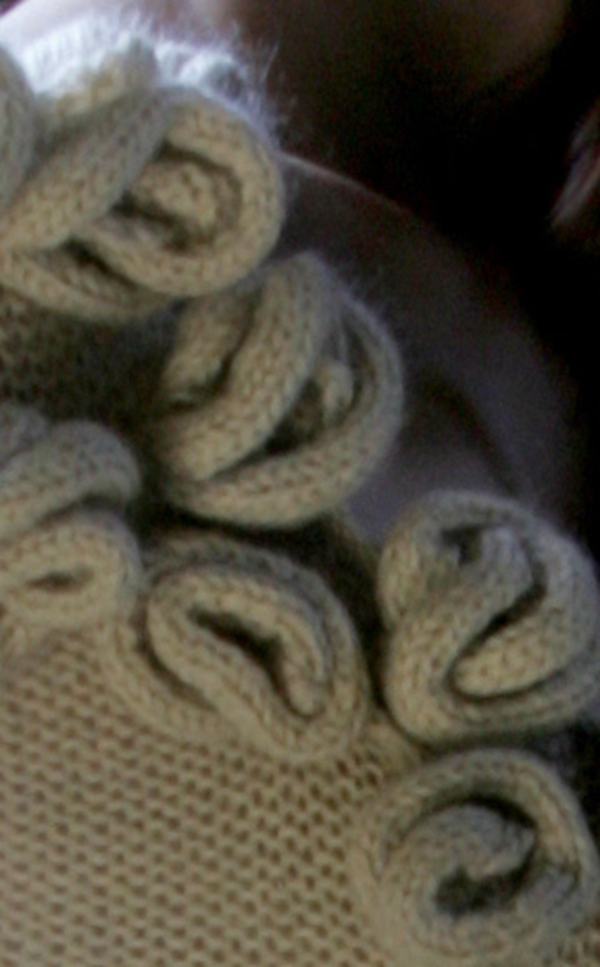 Briar Rose knit detail