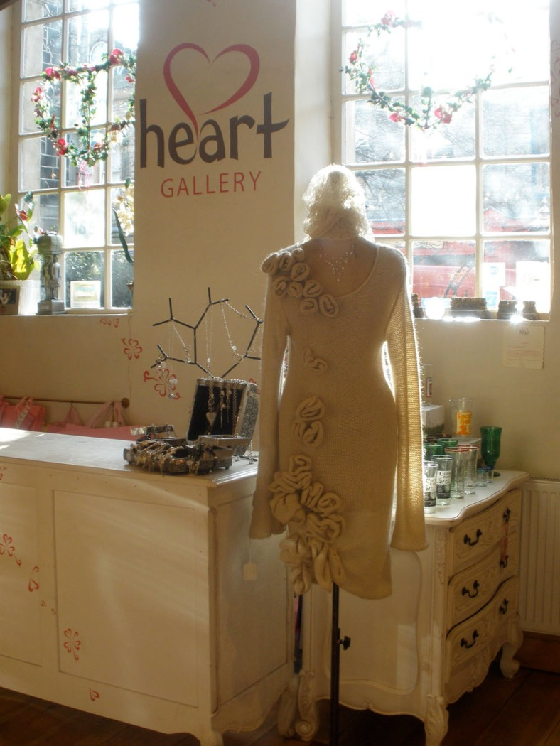 Makepiece in Heart Gallery, Hebden Bridge