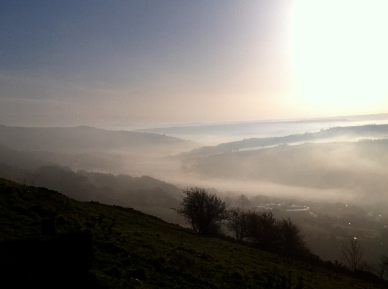 One of the many amazing views around the valley I live in x
