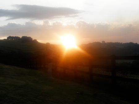 Sunset in the valley - just beautiful x