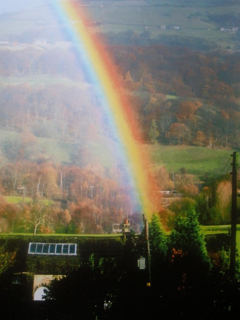 Rainbow over Park Farm x