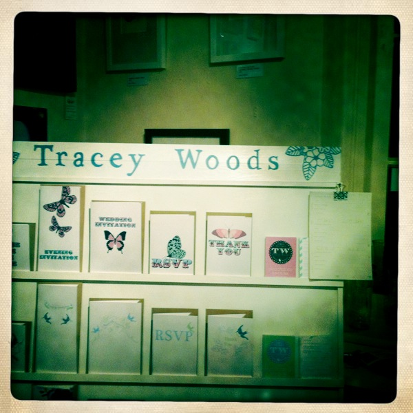 Close up of Tracey's stand in Heart Gallery