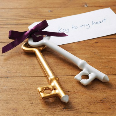 STUNNING PORCELAIN KEYS - PERFECT VALENTINES PRESENT