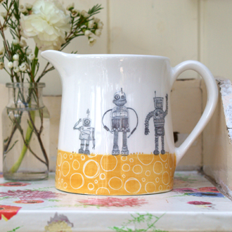 Julia Davey Robot design functional ceramics from £12
