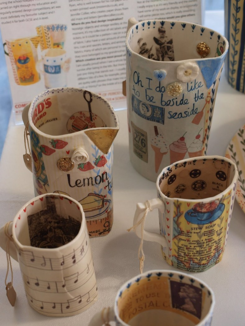 Selection of Katie's Jugs and Mugs