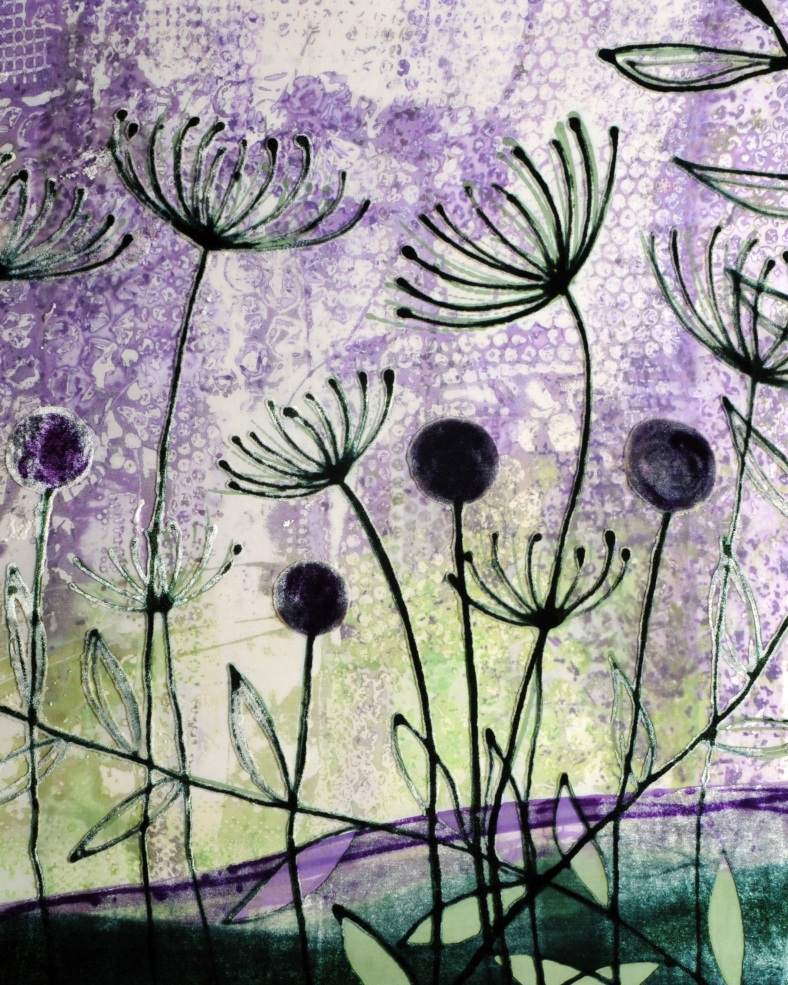 Catherine Green - Textile framed pieces and limited edition prints