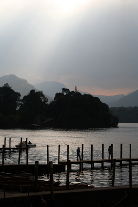 Derwent Water - a great source of inspiration for Helen