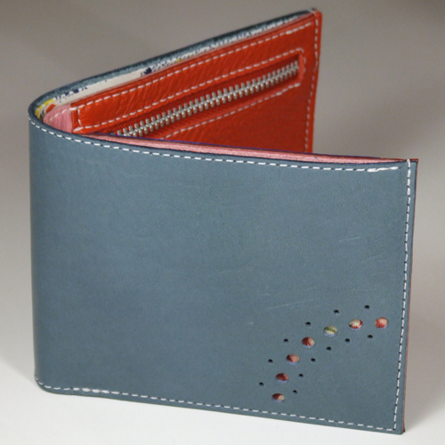 Leather Wallets at Heart Gallery handmade by Gregg McDonald