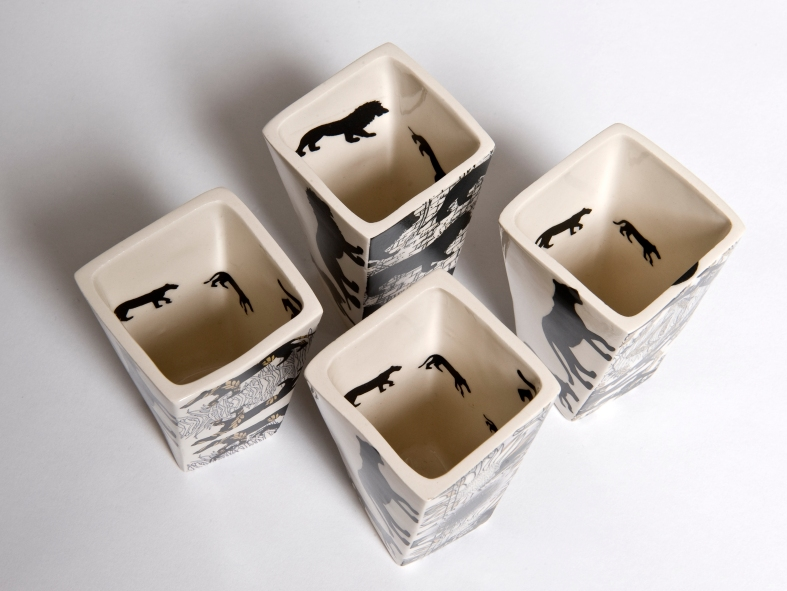 Georgina Fowler - image of lions inside the vessels