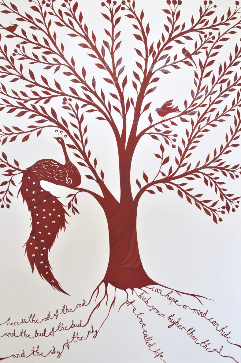 Customer's commissioned papercut