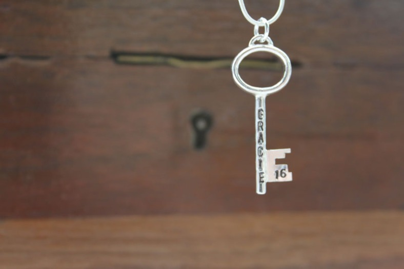 Personalised 16th key - GRACIE