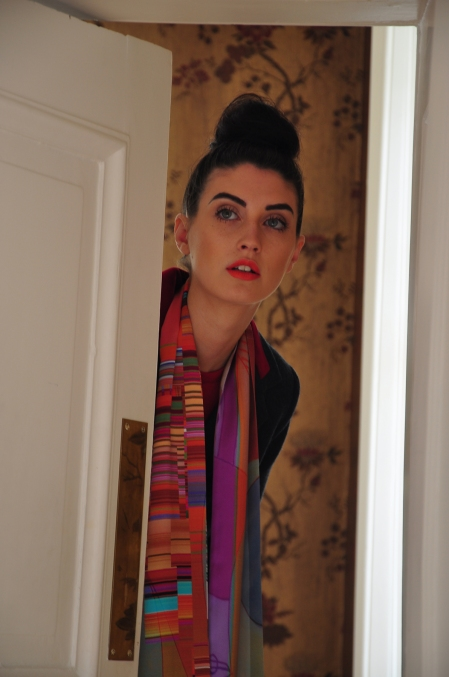 Silk scarf Spring/Summer 2011 collection