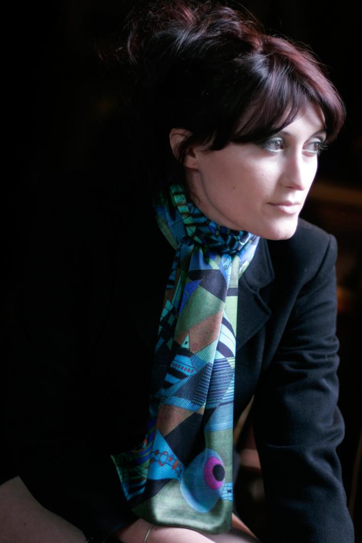 Silk scarf Autumn/Winter 2010 design