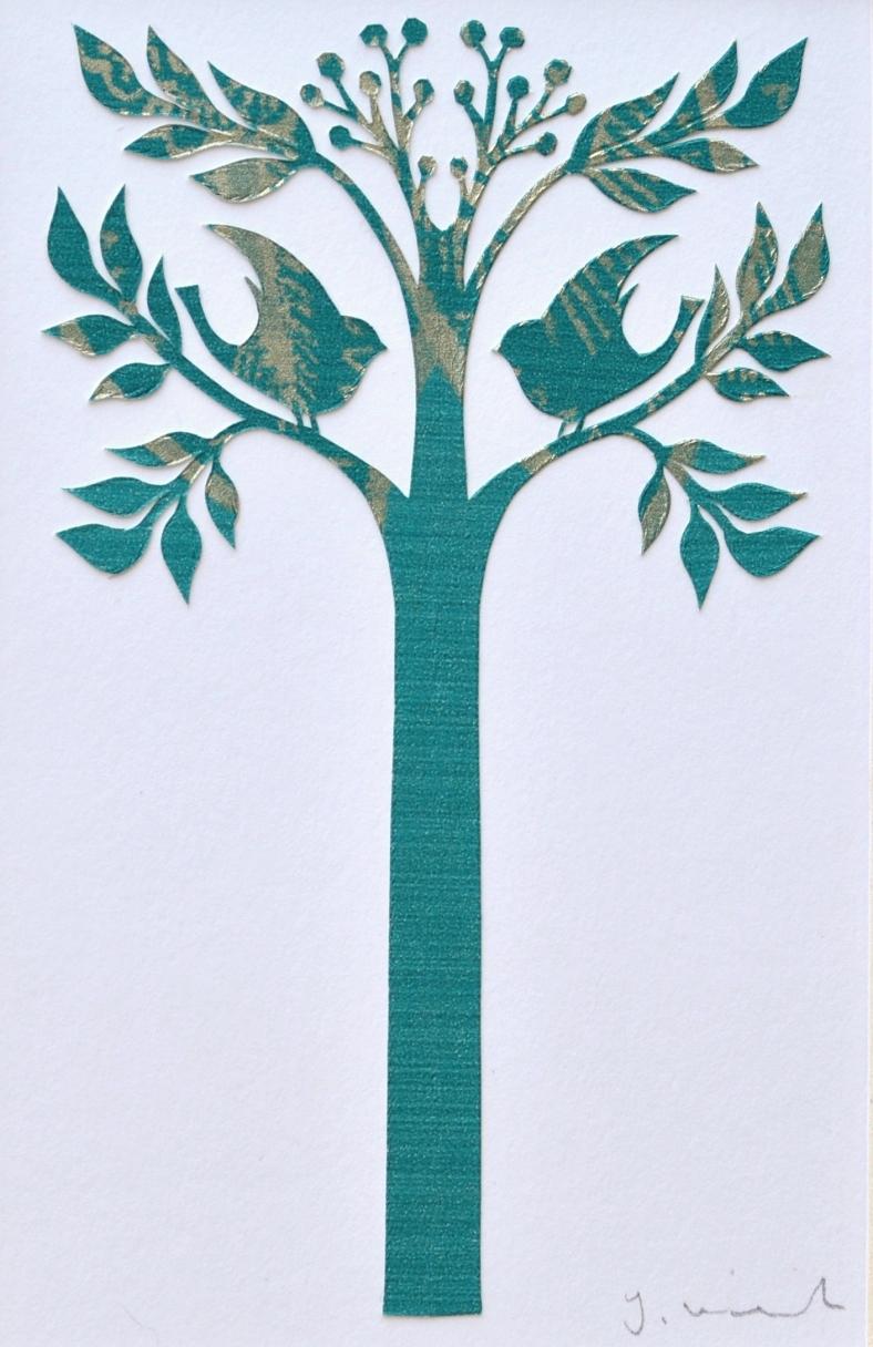 Positive Tree papercut