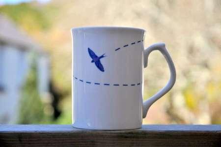 Circling Swift Mug