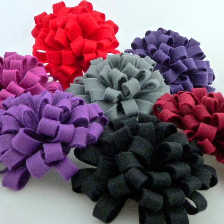 Selection of Loopy Corsages