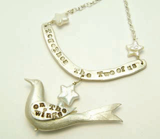 On The Wings necklace