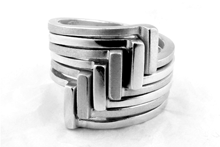 Squaring Off ring stack