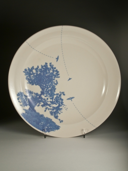 Swallows Tree Platter