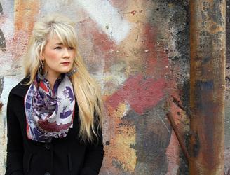Claire Armitage - silk scarf