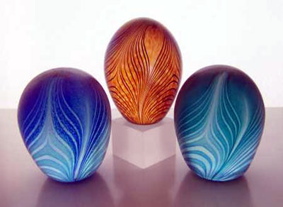 Sanders & Wallace - feather paperweights