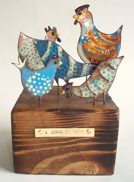 A Brood of Hens - Fiona Cameron