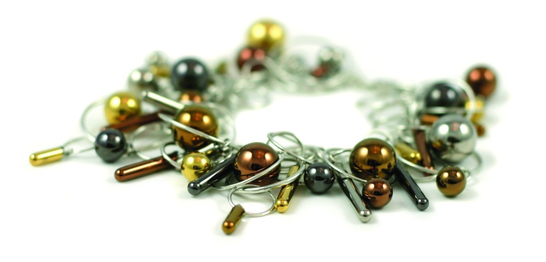 6 Colours Bubble and Drops Multilink Bracelet