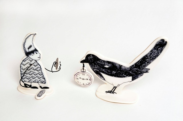 Bribing a Magpie - Janice Parker