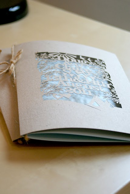 Lasercut Wedding Invitations - Kyleigh