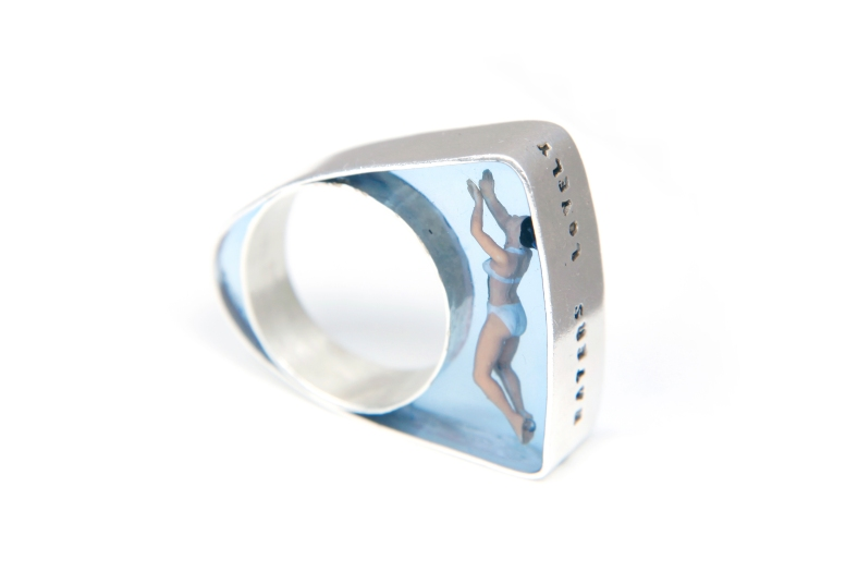 Helen Noakes Swimmer Ring