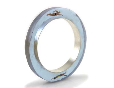 Swimmer Bangle - Helen Noakes