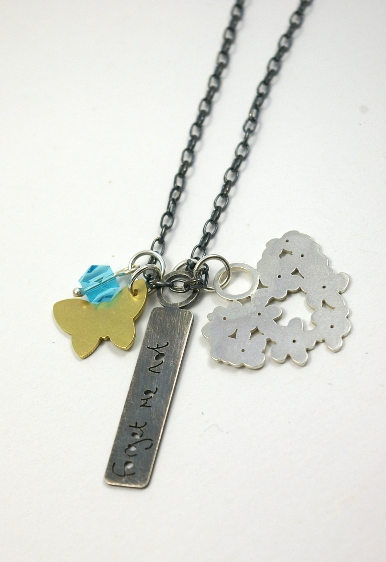 Forget Me Not necklace - Heather Fox