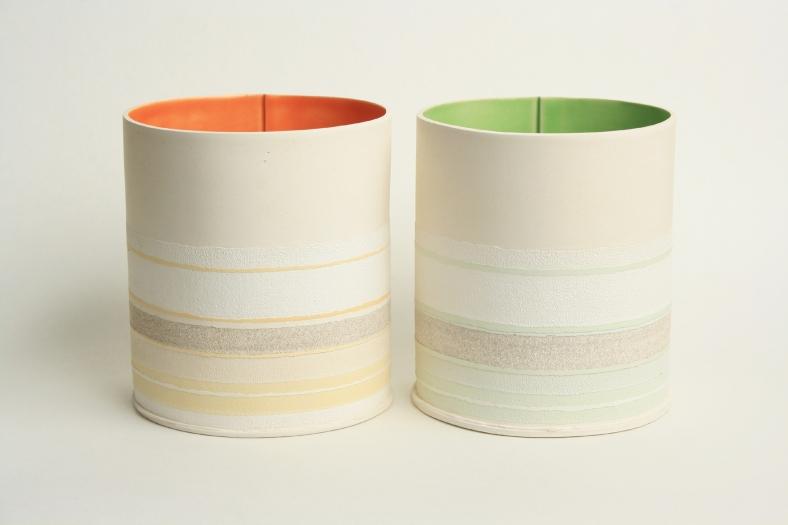 Large flower pots - Rachel Foxwell