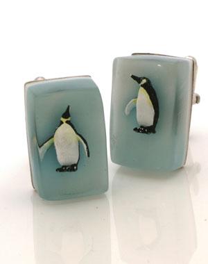 Penguin Cufflinks - Helen Noakes