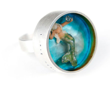 Mermaid Ring - Helen Noakes