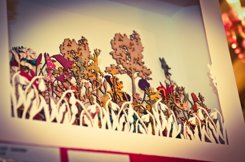 Lasercut Gardens Of Delight by Katie Heeks