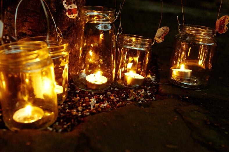 Heart Gallery lanterns