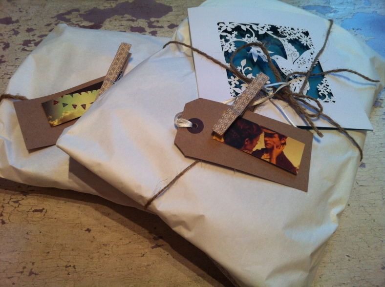 Beautiful packages from Lisa Murdoch