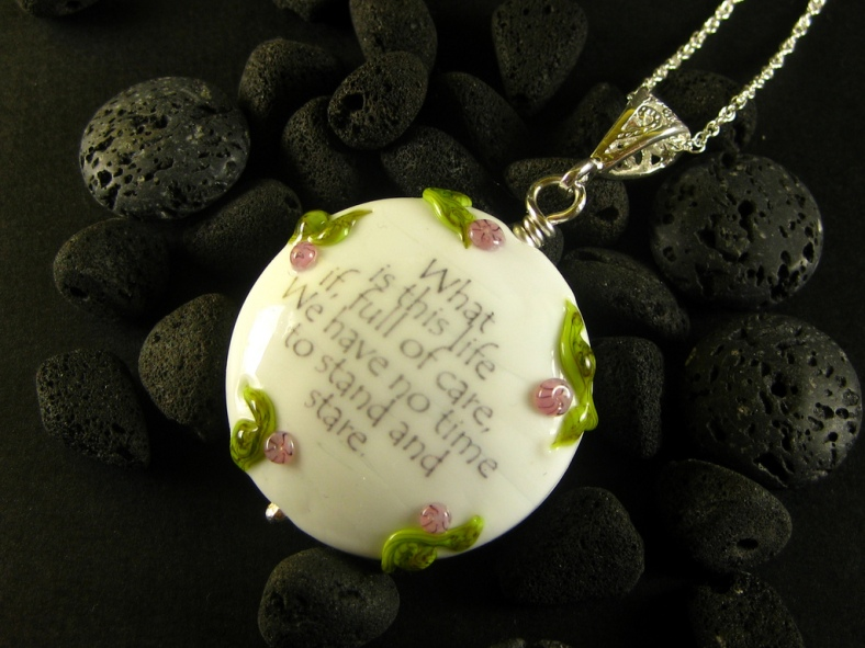 Necklace from Wordsmith range