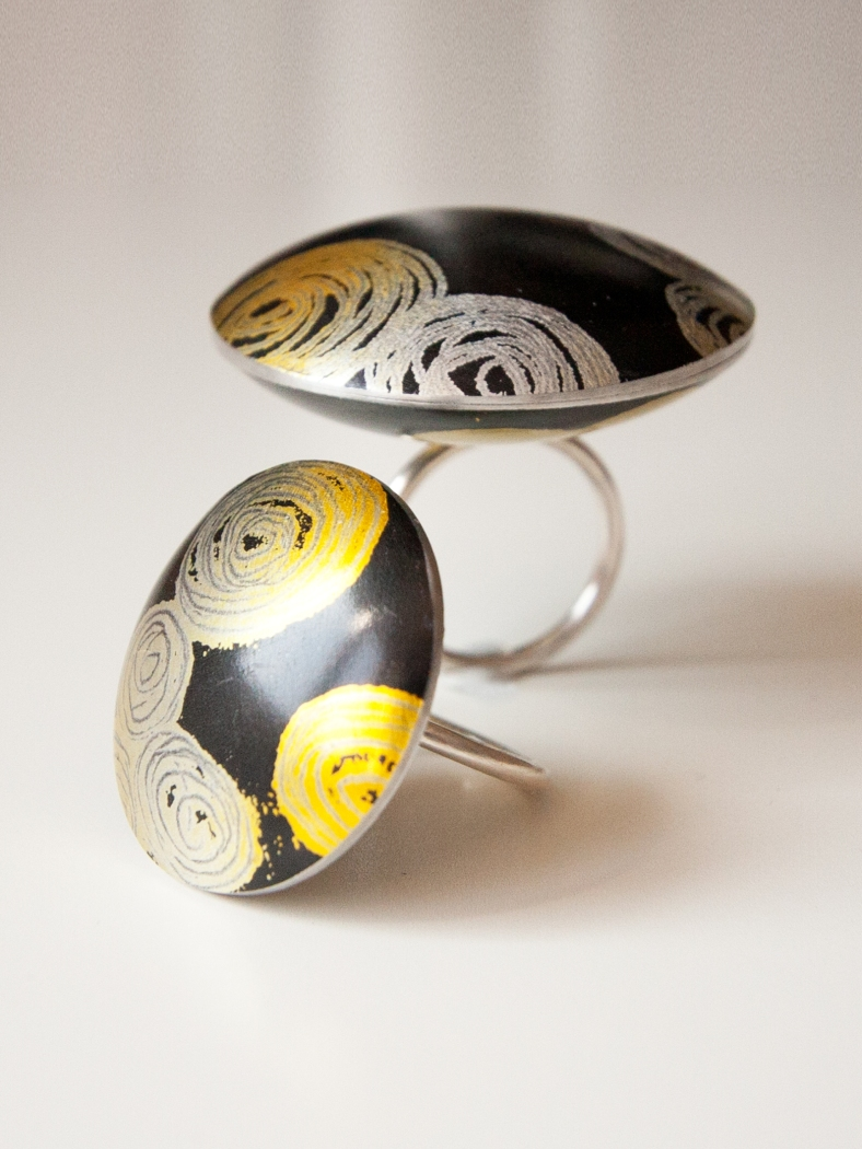 Rings from Emma's latest collection for Heart Gallery