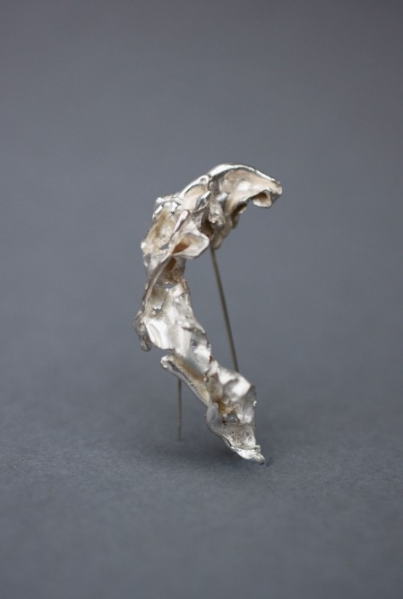 Silver Brooch from Gemma's Chaos Collection