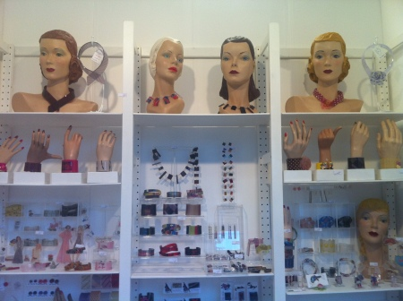 Always great to see Tamsin howells and her amazing acrylic jewellery