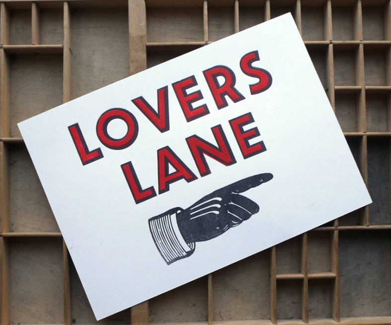 Lovers Lane print