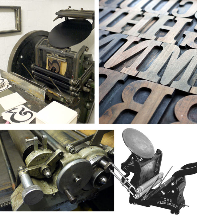 Jacqui's vintage presses