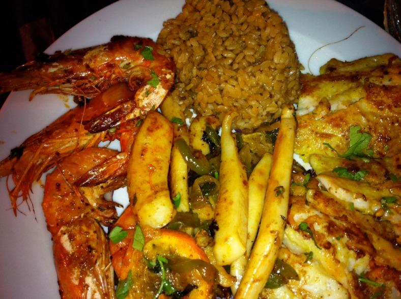 Fish platters